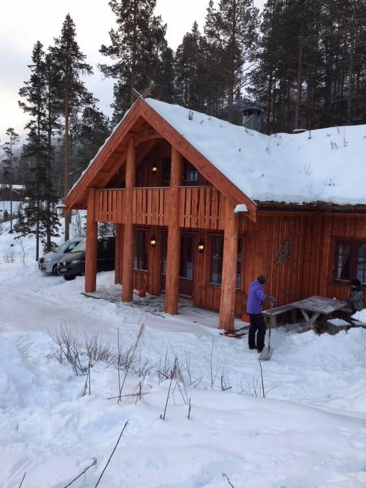 Stor hytte Uvdal