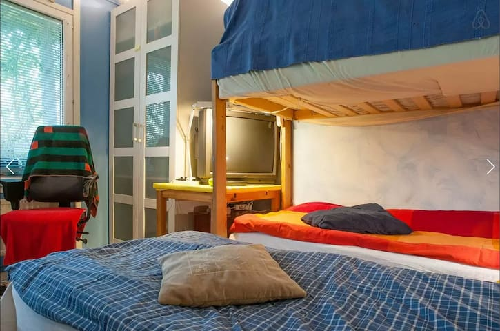 Cozy room by the subway station and the forestpark - Stockholm