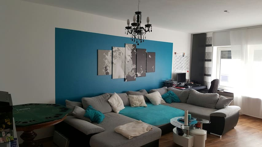 COMFORTABLE (103qm2) near Trier/LUX - Konz - Appartement