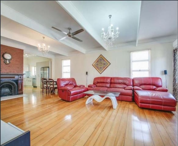 Perfect family home for visitors or short stay.