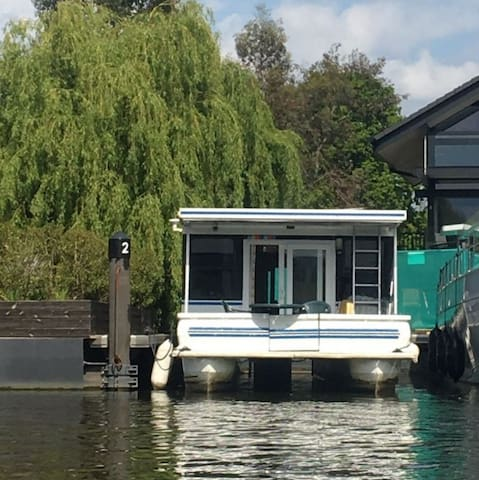 "Luxury American Floating Home at ""Riverscapes"" - Hampton Court Rd, Greater London - Vaixell"