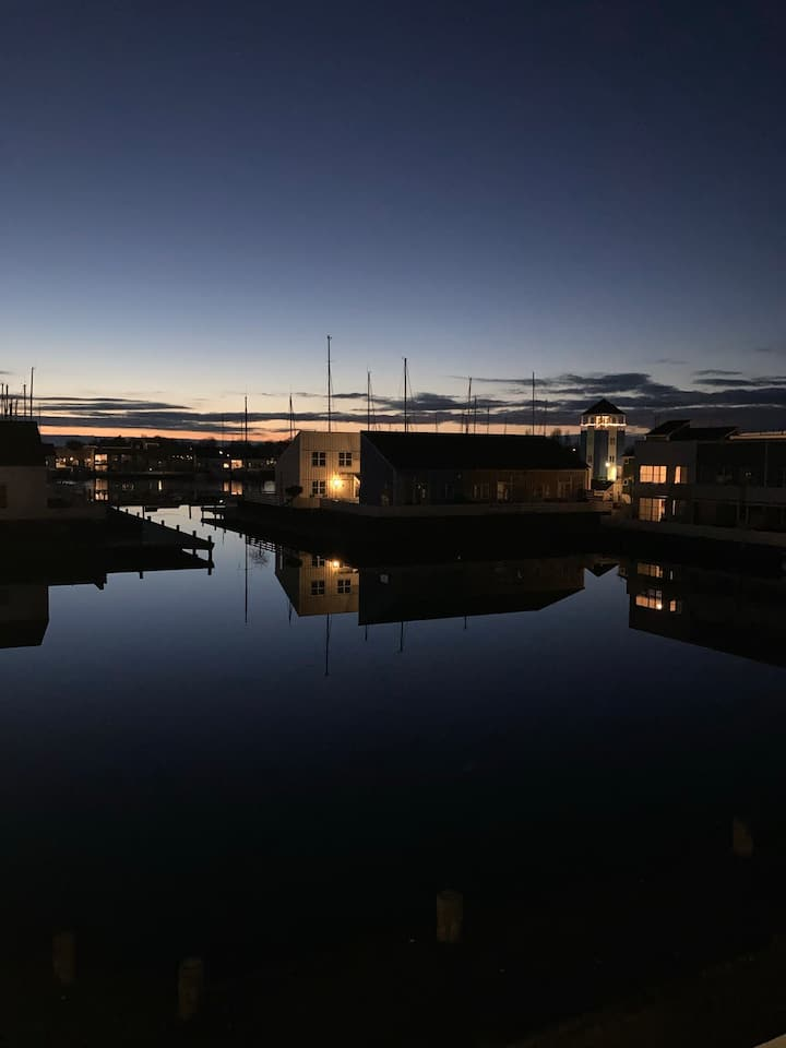@denmaritimeperle, lejlighed, unik maritim ferieby