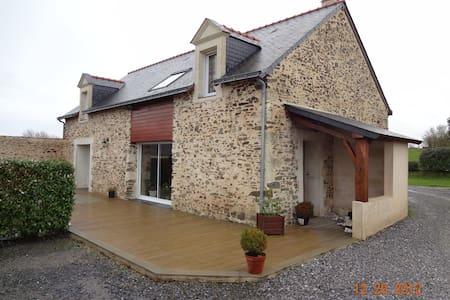 Maison Campagne au Calme - La Pommeraye