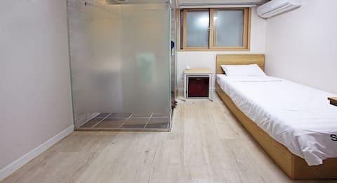 Starria hostel_single bed room