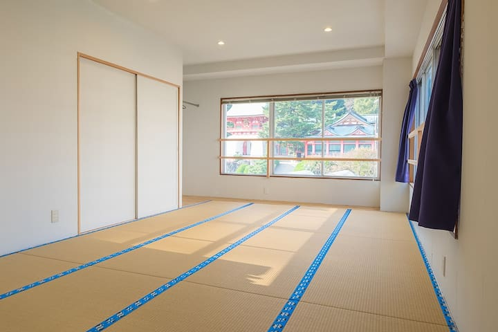 "The japanse private room B of a hostel,""uzuhouse"" - Shimonoseki-shi"