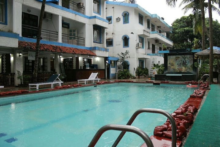 2bhk apartment with swimming pool - Bardez - Apartemen