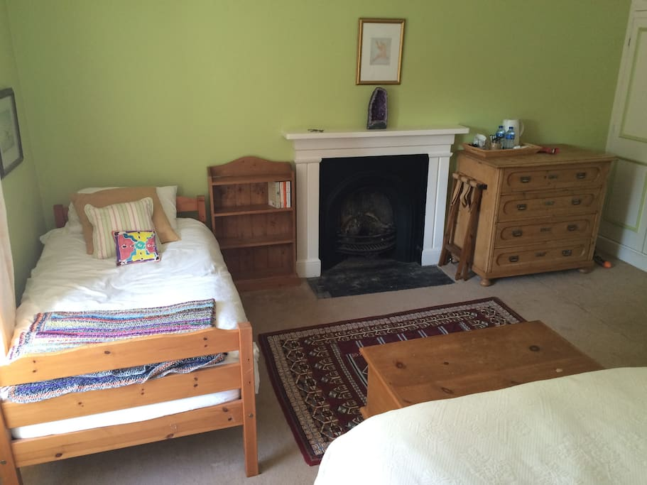 Single Bed - ideal for those with children