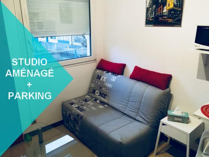 Studio meublé proche Hôpital Trousseau
