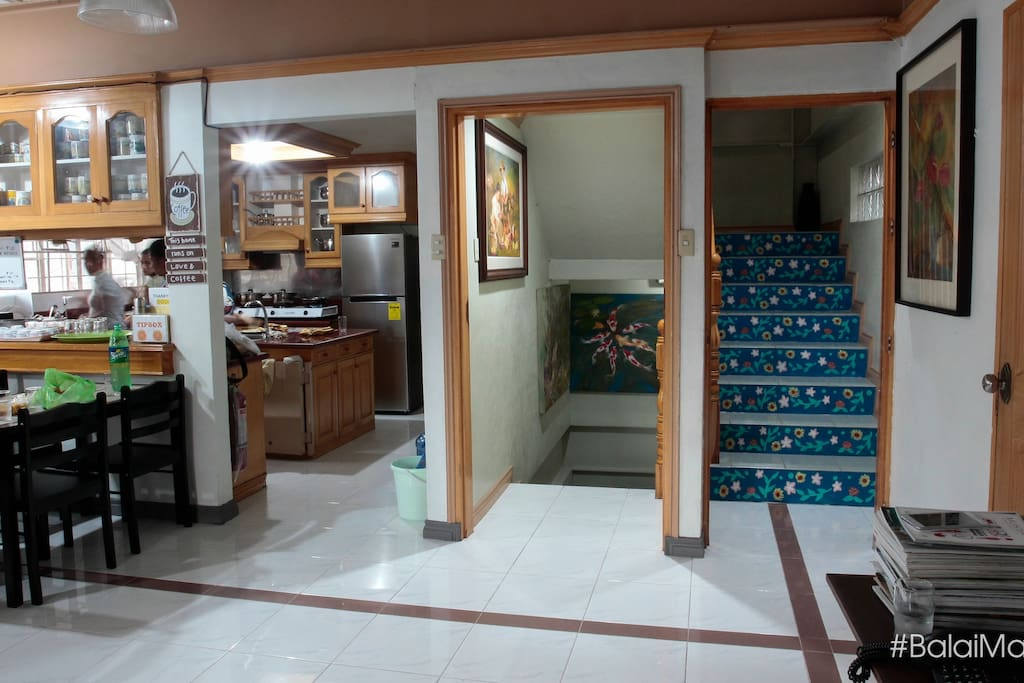 Dining Area and Kitchen are located on the second floor for Balai Martina