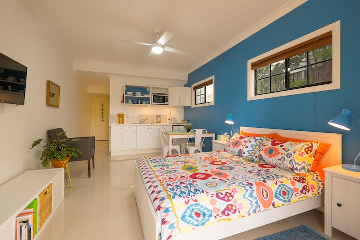 Wynnum Manly Studio by the Bay - Wynnum - Apartamento