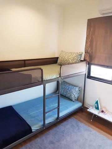 Bedroom#3 : Bunker Bed