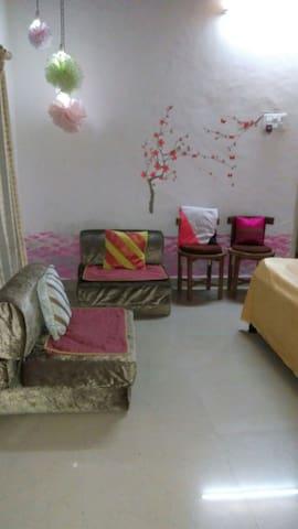 "Six Seasons Shrivardhan, ""Grishm"" Guest Room"