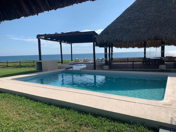 Rancho del Mar casa de descanso frente al mar