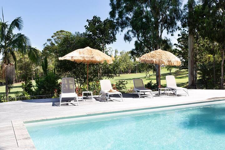 Treetops villa