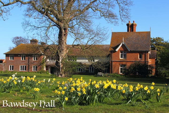 Bawdsey Hall - King Room with Garden View (a)