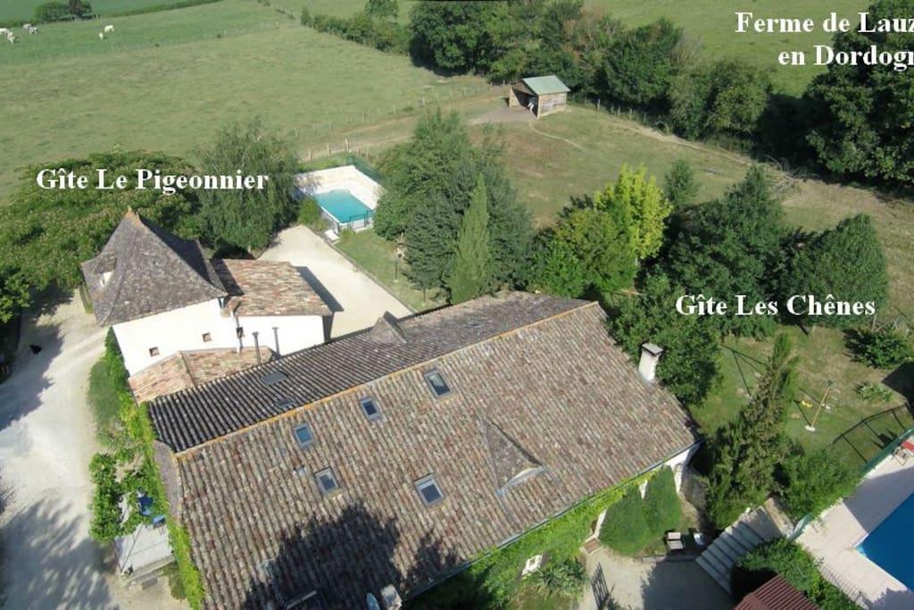 Hameau de Lauzanac et ses 2 gîtes