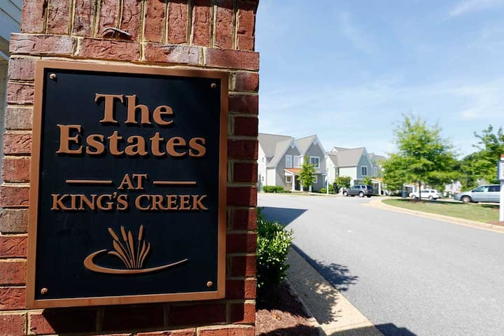 Kings Creek Plantation - the charm of a village.