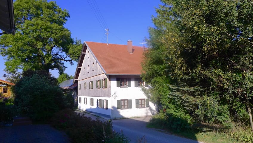 Geheimtipp mit antikem Charme im Allgäu - Obergünzburg - Huis