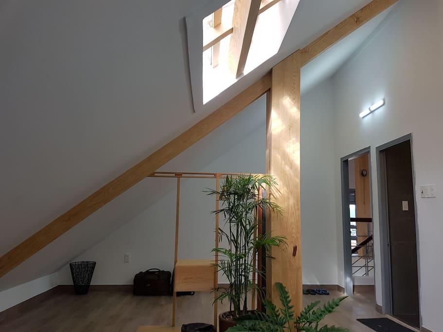 a corner of room