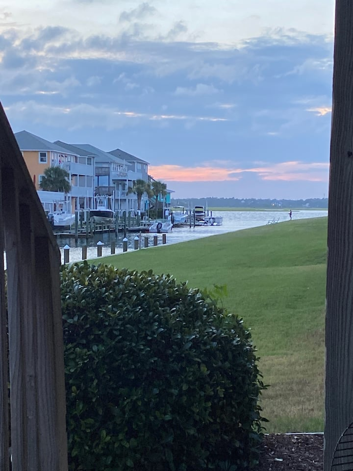 Canalfront Home w/ Community Pool Steps from Beach