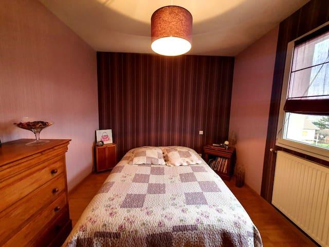 Chambre privée vue Mr Blanc Accès facile A6 A40