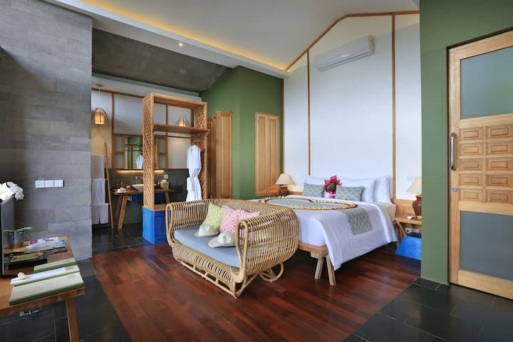 Ubud One Bedroom Private Pool Villa with view
