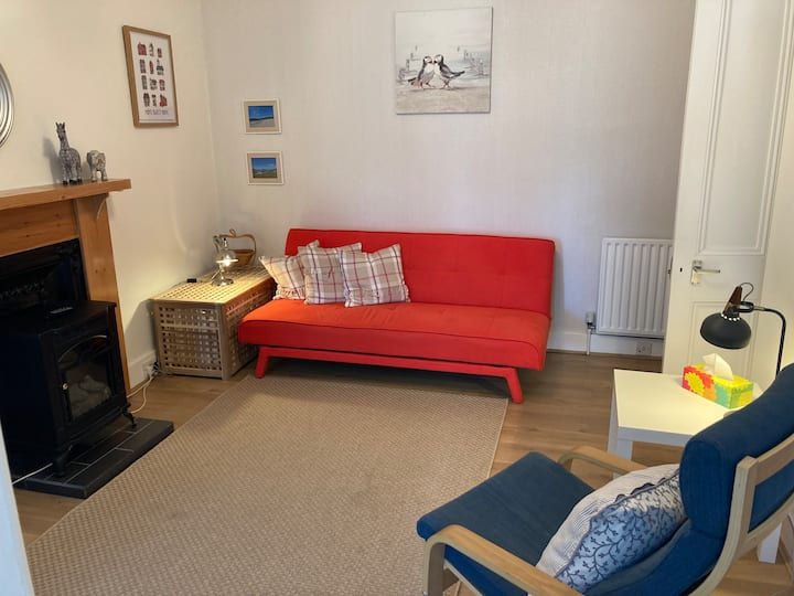 Inverness city flat, ground floor with garden