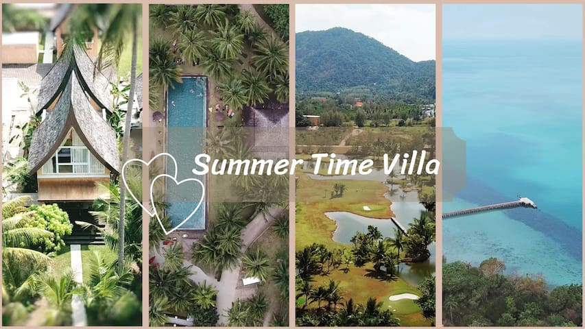 Summer time villa