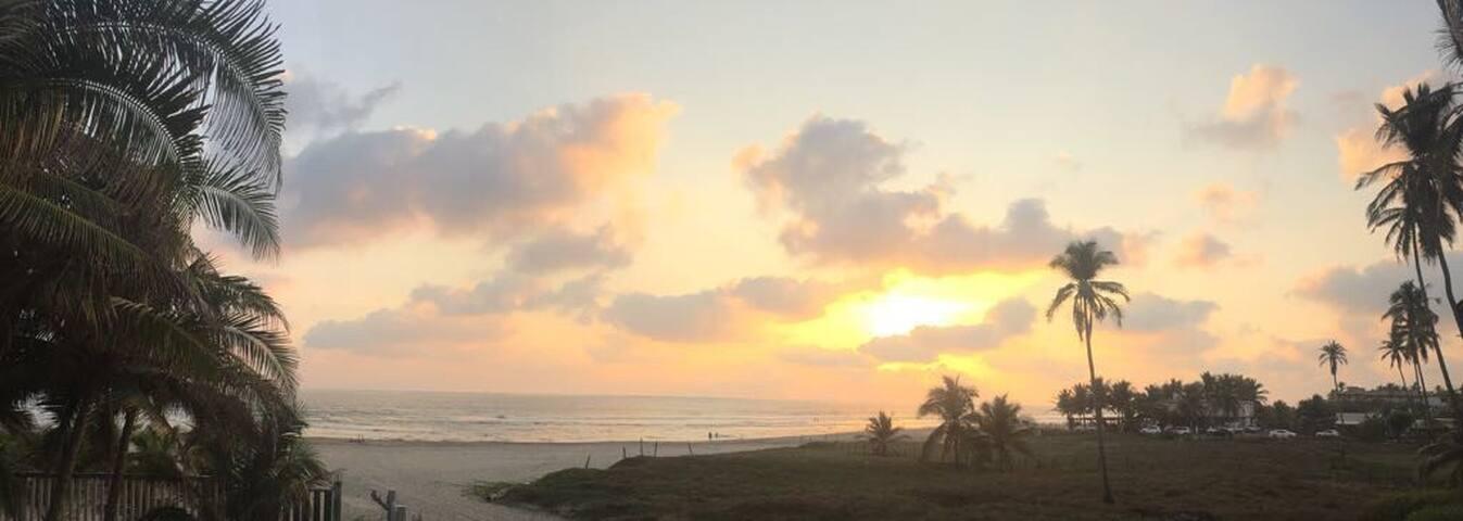 De las puestas del sol más bellas en el  mundo