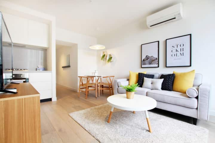 StayComfy Empire onebedroom*Free Tram*CBD