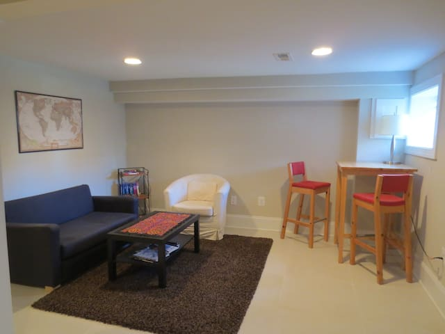 One-bedroom suite in solar-powered Petworth home