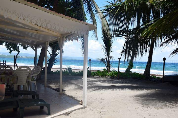 Bungalow 1 chambres sur plage