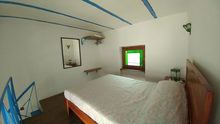 Lofted room for 2 guests at Ca'Sita B&B, upper side