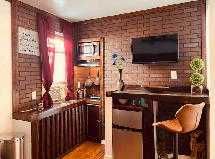 PRIVATE one bedroom apt in heart of philly..