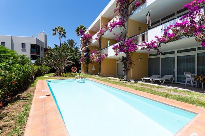 Apartamento gran terraza en Playa del Inglés