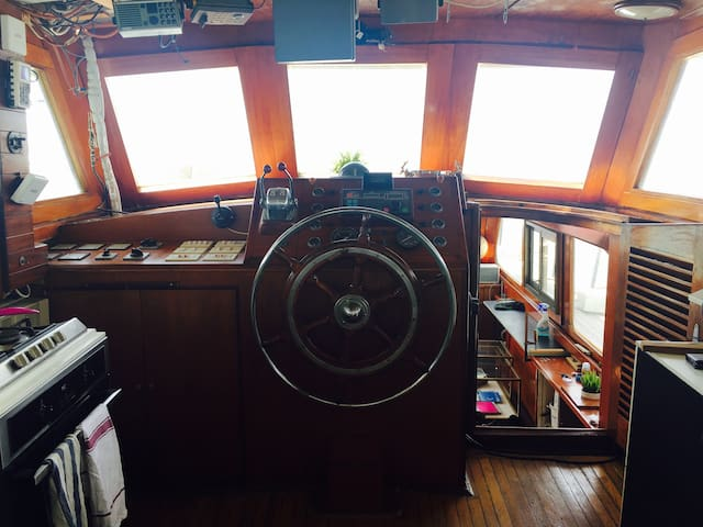 Vintage Boutique HouseBoat in Jaffa - Tel Aviv-Yafo - Boot