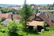 Idylle im fränkischen Fachwerkhaus - großer Garten