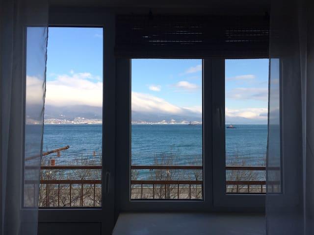 Квартира-студия с видом на море - Novorossiysk