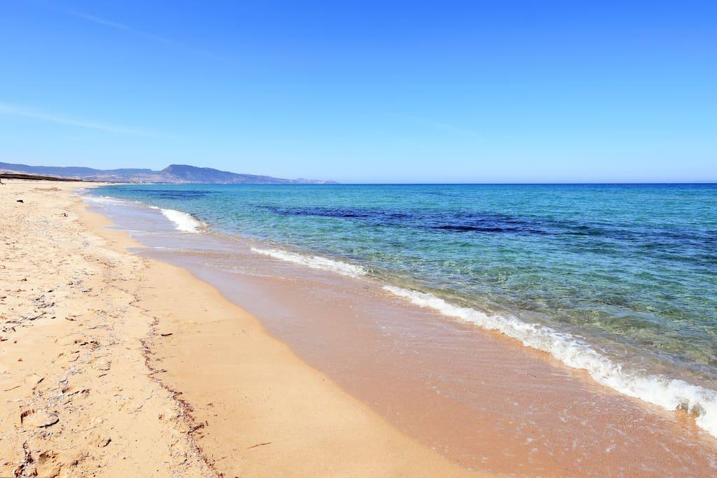 Spiaggia Poltu Biancu