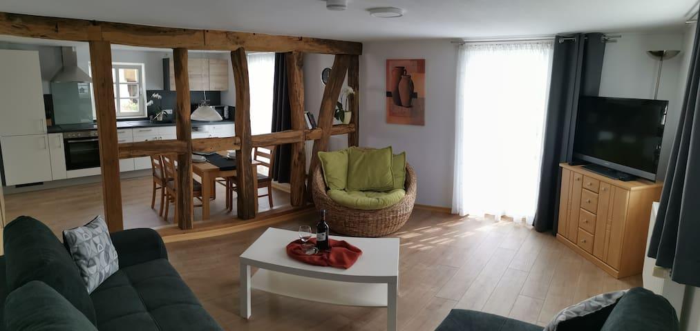 """Fewo """"Zu den Gärten"""" im Bergischen Land"""