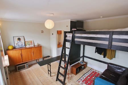 Central private studio with parking - Kopenhagen