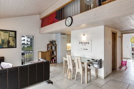 Charming apartment at La Marina Le Bouveret
