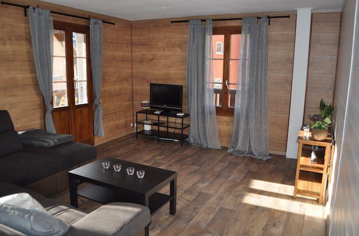 Appartement de montagne entièrement rénové