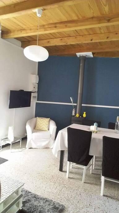 Côté salon