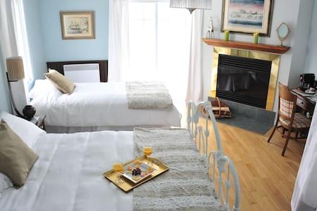 L'Authentique Auberge, 5 chambres,petit dej inclus - Les Éboulements