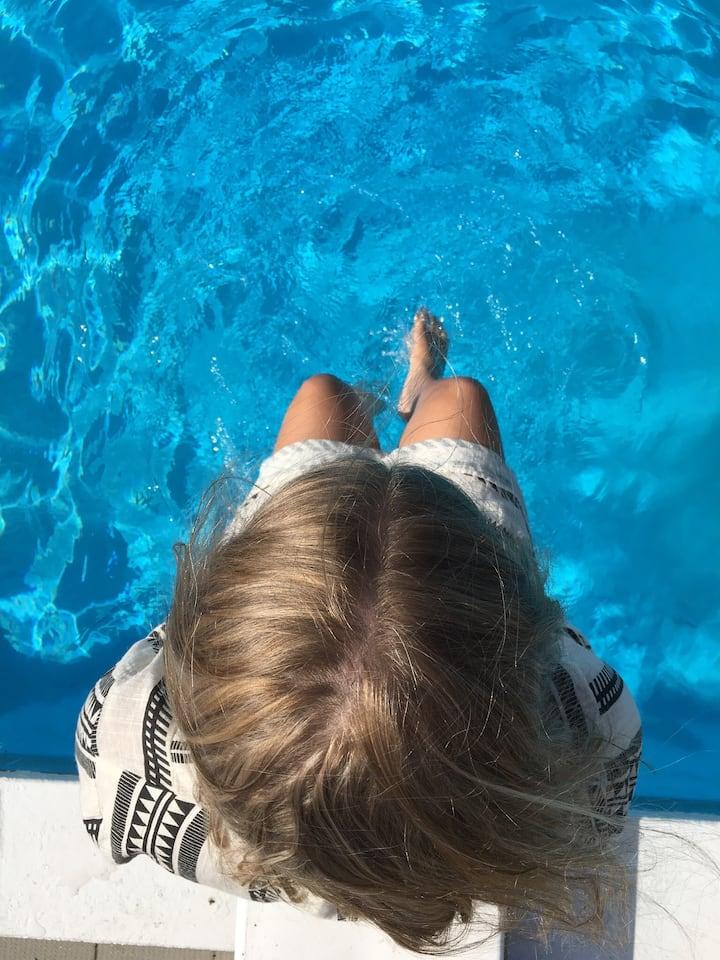Feriebolig med pool