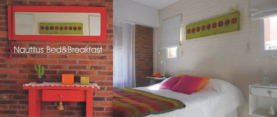 Hermosas  habitaciones c/ baño, exquisito desayuno