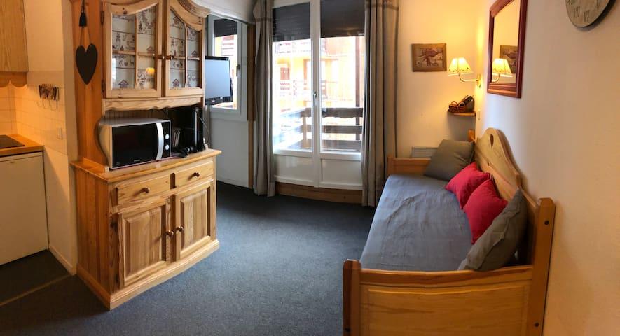 Risoul Appartement 6 couchages 27m2