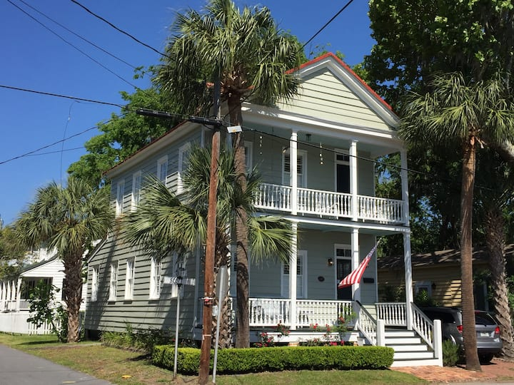 Southern Living in Historic Downtown Beaufort.