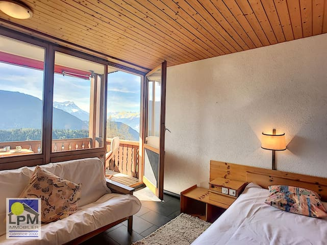 Comfortable studio right by cable car, Leysin - 00218